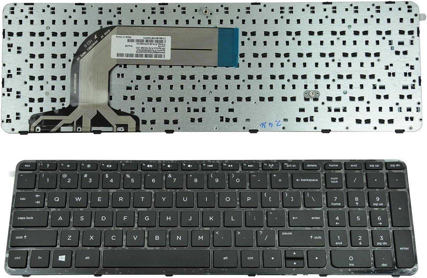 wangpeng New US keyboard for HP Pavilion 17-E153CA 17-E160NR 17 ...