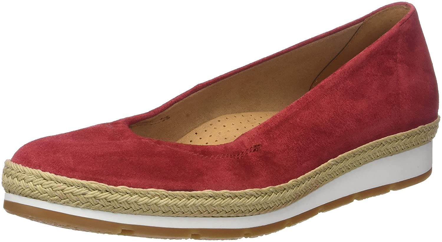 Gabor Jute/S.n/W) Shoes Comfort Rouge Sport, Ballerines Femme B072SWLCB9 Rouge (Red Jute/S.n/W) cceb13e - robotanarchy.space