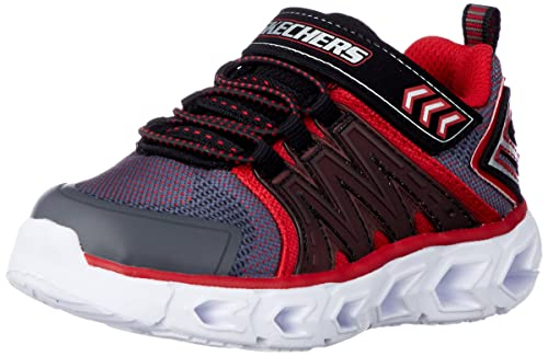 Skechers Boys Hypno-Flash 2.0 Light Up Athletic Sporty Trainers Shoes: Amazon.es: Zapatos y complementos