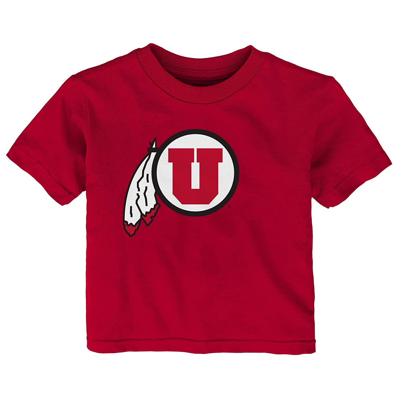 Outerstuff NCAA Utah Utes Infant Primary Logo Short Sleeve Tee 18 Months Dark Red