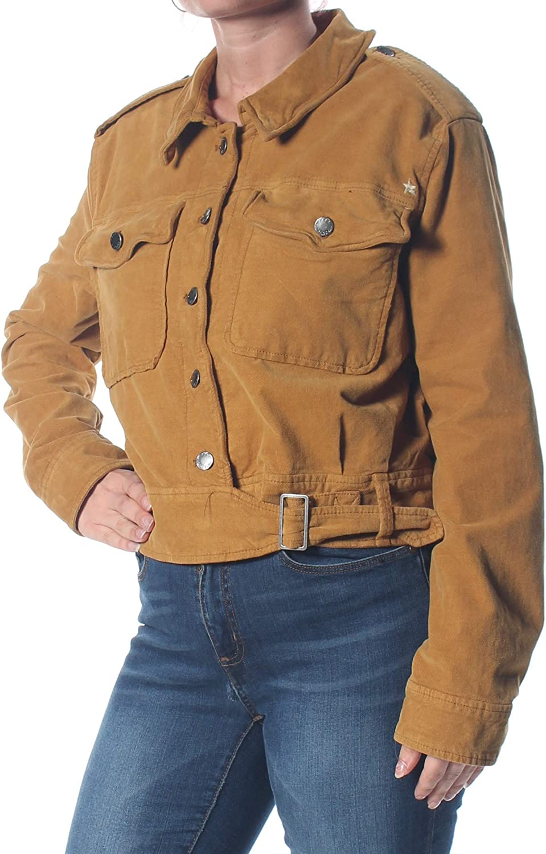 Amazon Com Free People Womens Everlyn Fall Corduroy Military Jacket Clothing