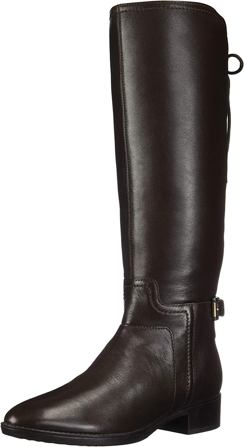 Geox FELICITY Woman: Black Ankle Boots | Geox Fall Winter