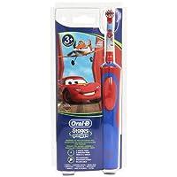 Braun StagesPower - Cepillo de dientes infantil eléctrico de rotación, color rojo y azul