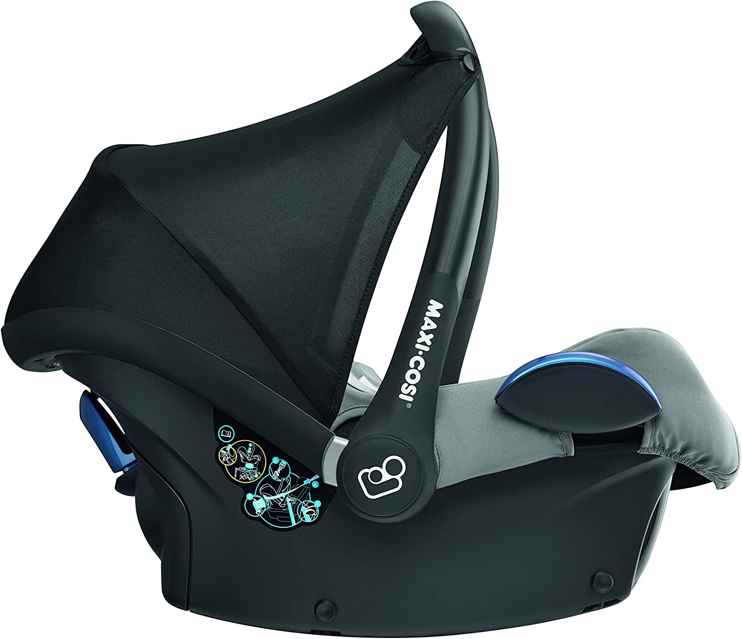 0-13/kg Maxi-Cosi CabrioFix/Si/ège auto groupe 0/+ Nomad Grey Gris