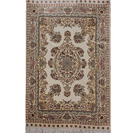Analytical Vintage Burgundy Floral 4x6 Kashmar Persian Oriental Hand-knotted Area Rug Rugs & Carpets
