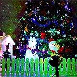 1byone Aluminum Alloy Outdoor Laser Christmas