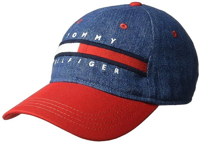 Tommy Hilfiger Hombre 6941821 Gorra de béisbol - Multi - Talla ...