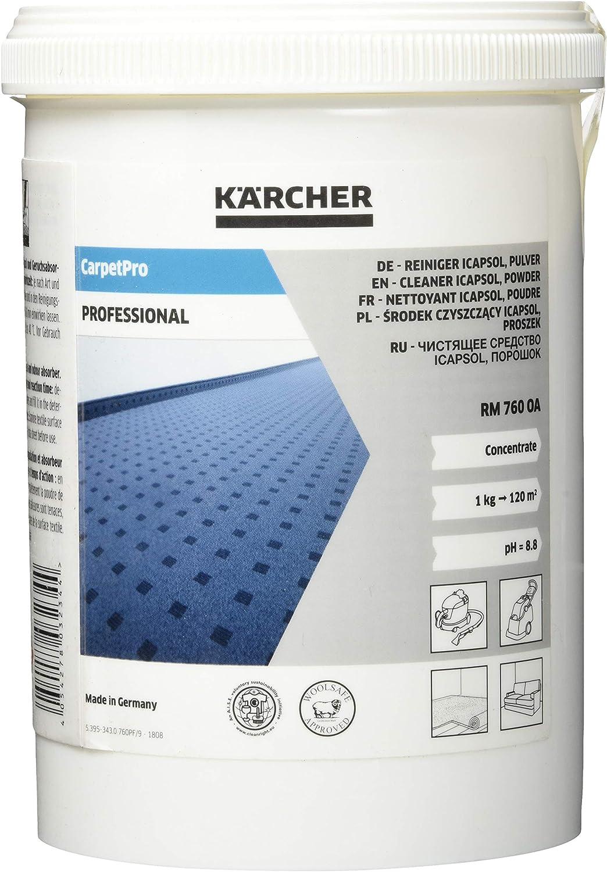 Kärcher 6.295-847.0 limpiador para alfombras rm 760 powder, 800 gr ...