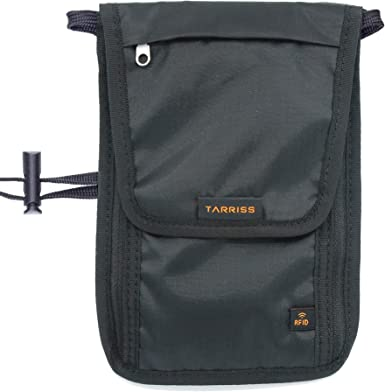 Tarriss Anti-theft Neck Wallet with RFID