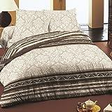 Rococo - SoulBedroom 100% Cotone Biancheria da letto (Copripiumino 240x220 cm & 2 Federe 50x75 cm)