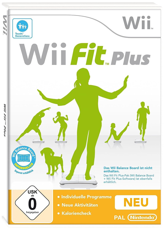 Wii Fit Plus [Importación Alemana]: Amazon.es: Videojuegos