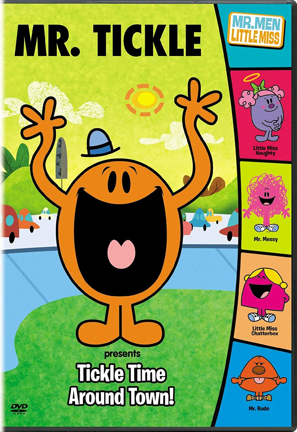 Amazon com mr men show mr tickle presents tickle time around town mr men show movies tv
