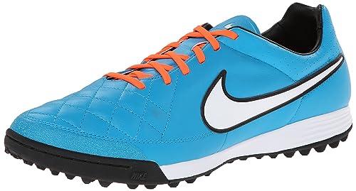 Nike Tiempo Legacy Scarpe da calcio uomo, Uomo, Blau (NEO TURQ/WHITE-HYPR CRMSN-BLK 418)