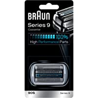 Braun 90S Series 9 Electric Shaver Replacement Foil and Cassette Cartridge - Silver