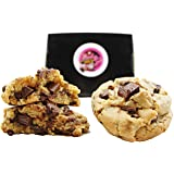 Chocolate Chip Cookies Gift Basket Gourmet Desserts for Delivery Fresh Baked Gift Box 14 Lb. Bulk Individually Wrapped Christmas Holiday Corporate Food Gift Idea Elegant (Chocolate Chip Bulk Case)