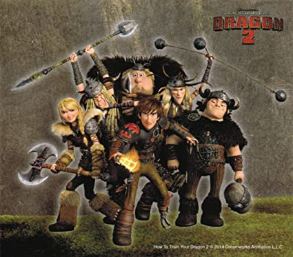 How To Train Your Dragon 2 Vikings Group Shot Sticker