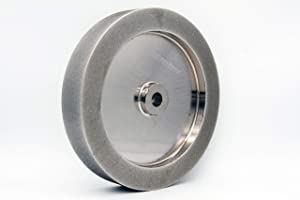 """Mega Square CBN Grinding Wheel, 8"""" 5/8 arbor, 220 Grit"""