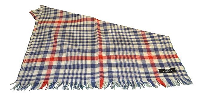 a7a5243e0ea9 MADE IN SCOTLAND - Echarpe - Femme rouge Rouge, blanc, bleu X-Large ...
