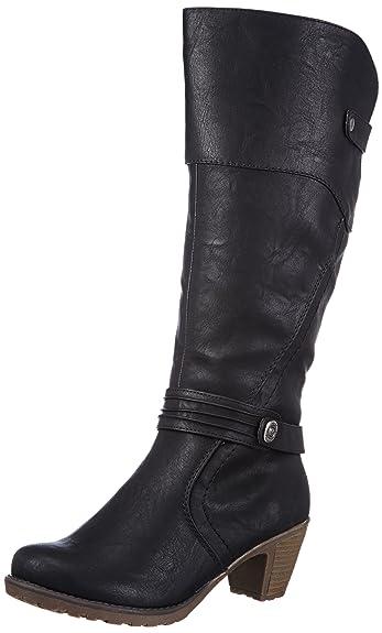 Rieker 91552 Damen Langschaft Stiefel  Amazon.de  Schuhe   Handtaschen ba855ac413