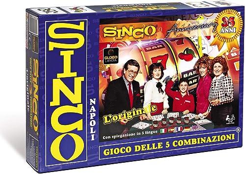 SINCO, el Juego de Mesa de Las 5 Combinaciones (versión Italiana): Amazon.es: Juguetes y juegos