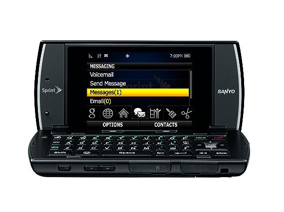 amazon com sanyo incognito scp 6760 phone black sprint cell rh amazon com Sanyo Flip Phone Cell Phone Case for Sanyo 8200 5600 2300