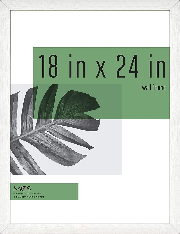 MCS Industries Inc 63739 18x24 Inch Studio Gallery, White Woodgrain Frames, 18x24