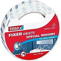 Tesa 55759-00000-00 Fixer Objets Spécial miroirs 5 m x 19 mm