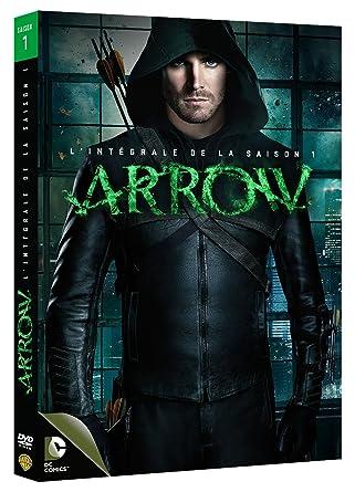 7633b43d36b Arrow - Saison 1 - DVD - DC COMICS  DVD   Blu-ray   Amazon.fr