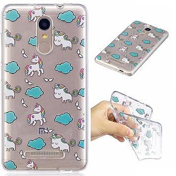 For Xiaomi Redmi Note 3 Case CoverEcoway Coque De Telephone Doux Transparent Silicone Housse