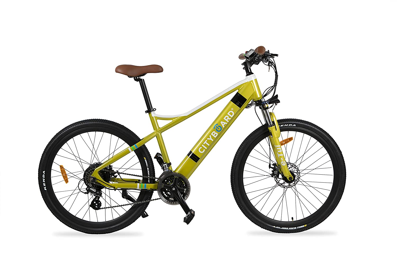 Cityboard E- Tui Bicicleta El/éctrica Negro//Azul 27.5 Pulgadas Unisex Adulto