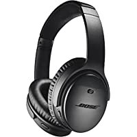 Bose QuietComfort 35 Series II Over-Ear Wireless Bluetooth Headphones with Microphone (Black)