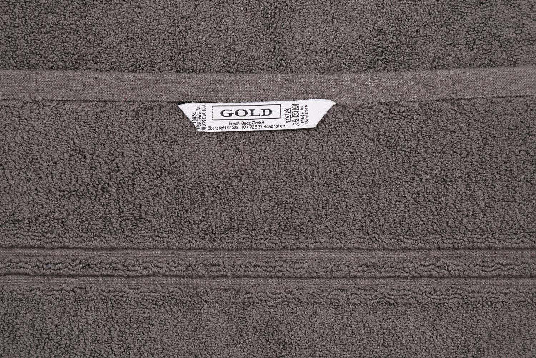 950g//m/² Farbe anthrazit-grau Betz Badvorleger XXL Badematte Badteppich Duschvorleger Frottee Gr/ö/ße 60 x 97 cm 100/% Baumwolle Gold Qualit/ät