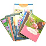 Paper Craft Moments to Treasure Assorted All Occasion Greeting Cards with KJV Scripture, 48 Count (IG68962)