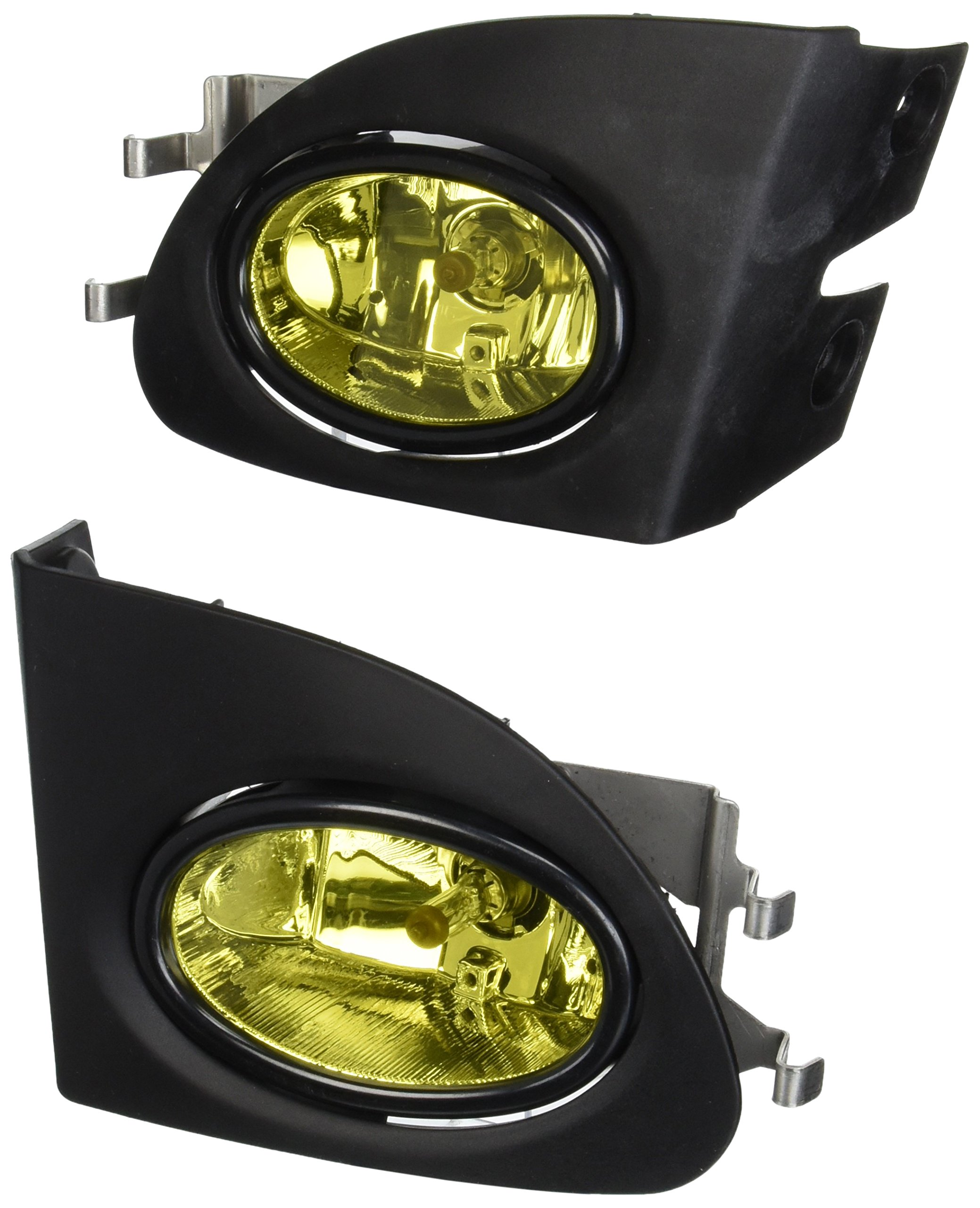 Amazon.com: Spec-D Tuning LF-CV023AMOEM-DL For Honda Civic Si Hatchback EP3  Yellow Bumper Diving Fog Lights Pair: Automotive