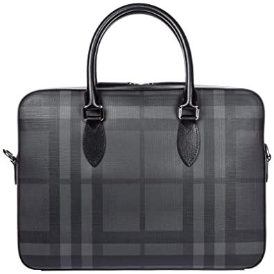 Porte Burberry Hambleton Noir Homme Documents Sac 55prWnBR