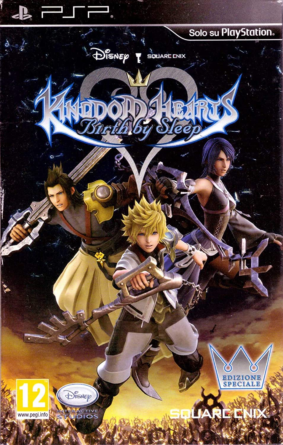 Square Enix Kingdom Hearts - Birth by Sleep special edit. - Juego ...