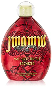 woww, Mad Hot Tingle Bronzer, Tanning Lotion 13.5 Ounce