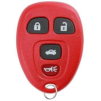 KeylessOption Keyless Entry Remote Control Car Key Fob Replacement for 15252034