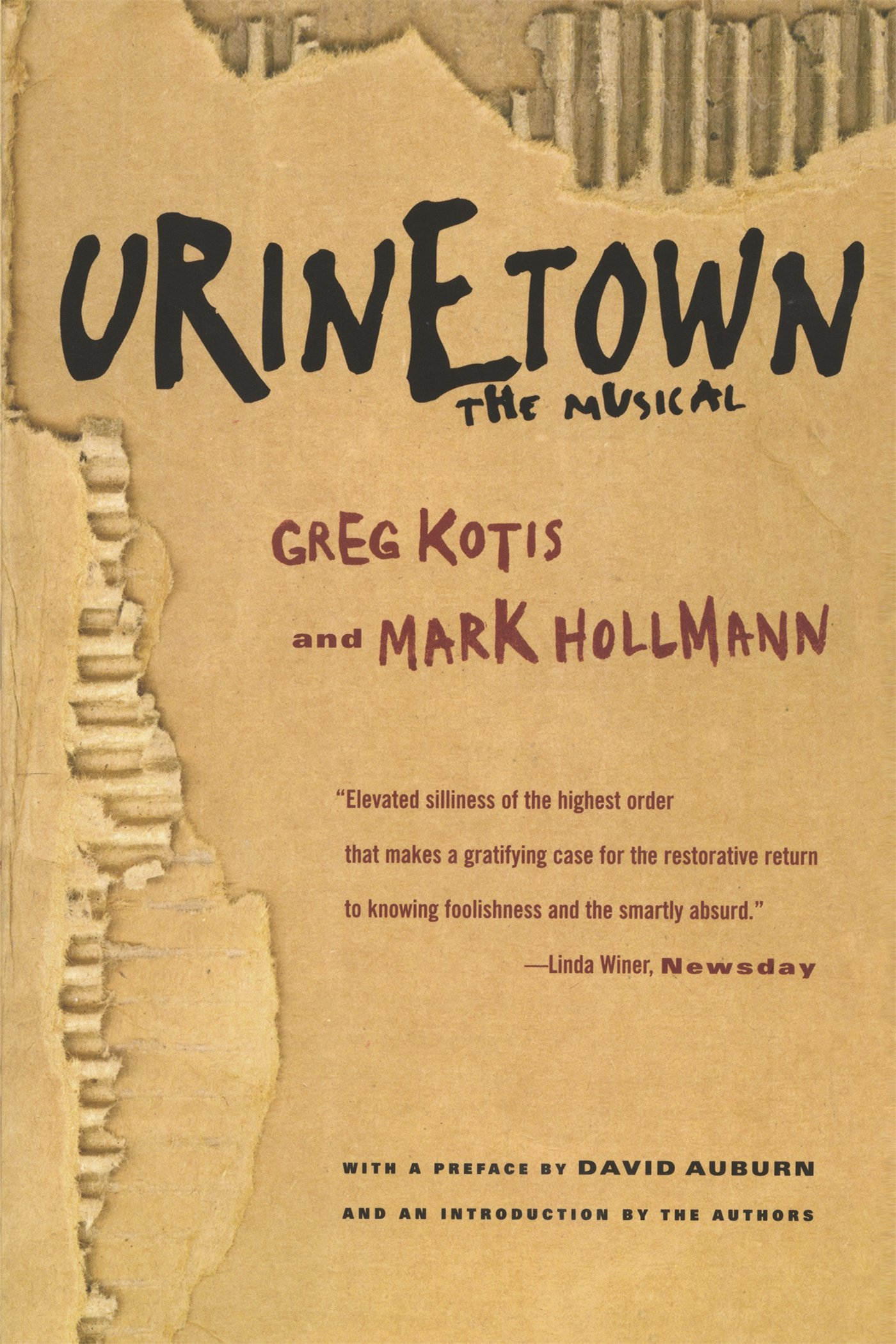Urinetown the musical mark hollmann greg kotis 9780571211821 urinetown the musical mark hollmann greg kotis 9780571211821 amazon books fandeluxe Choice Image