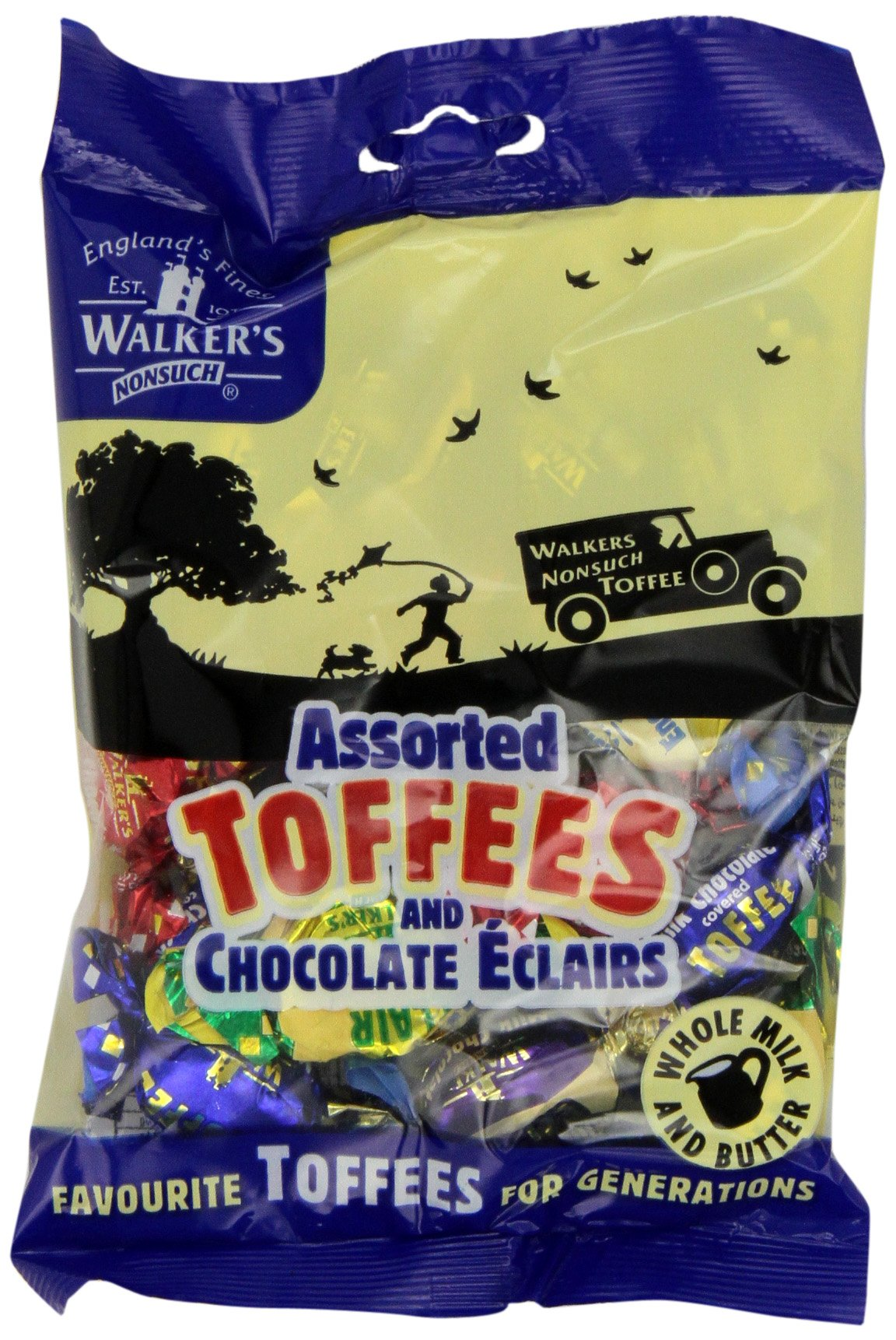 Walkers Assorted Royal Toffees, 5.29 Ounce Bags (Pack of 12) by Walkers