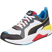 PUMA X-Ray Jr Puma White-Puma Black-Dark Shad Moda Ayakkabılar Unisex Yetişkin