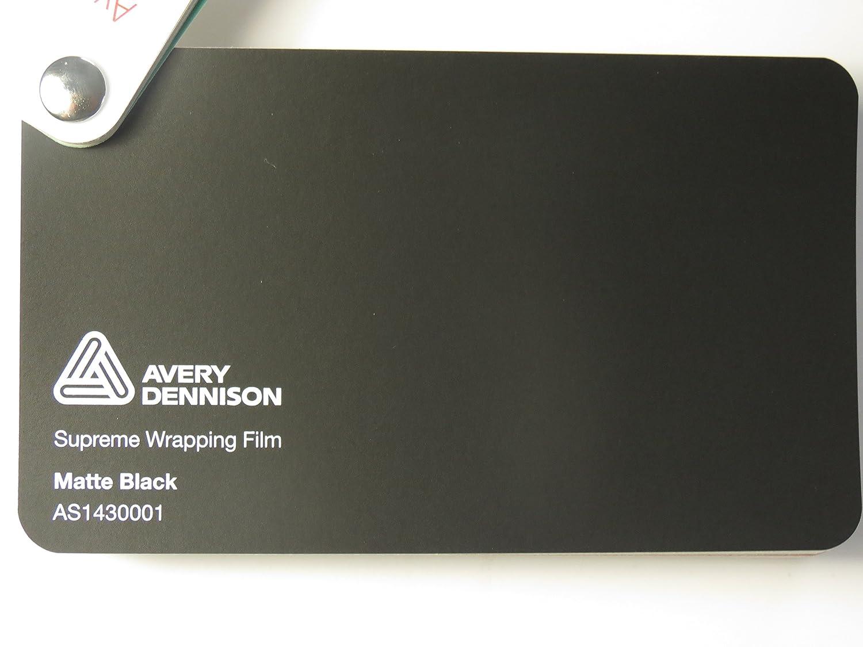 Avery Supreme Wrapping Film Serie Schwarz Matt gegossene Autofolie 300 x 152 cm