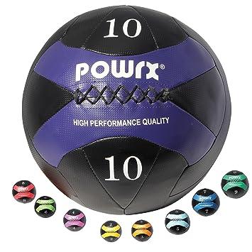 331ef0dc127e5 POWRX Wall-Ball I 2-10 kg I Medizinball Gewichtsball in versch. Farben