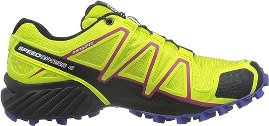 Salomon L39185900, Zapatillas de Trail Running para Mujer, Verde ...