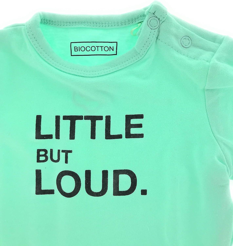 jbc Baby Bio Baumwolle Langarm Body Strampler Pyjama 62-68 74-80 Loud