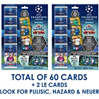 $29 » 2019-20 Topps Match Attax Champions League Cards - Multi-Pack Set (60 Cards + 2 LIMITED EDITION Cards)