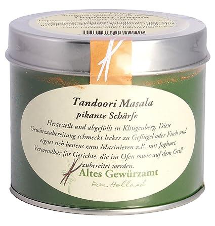 Tandoori Masala Gewürzmischung Ingo Holland: Amazon.de: Lebensmittel ...
