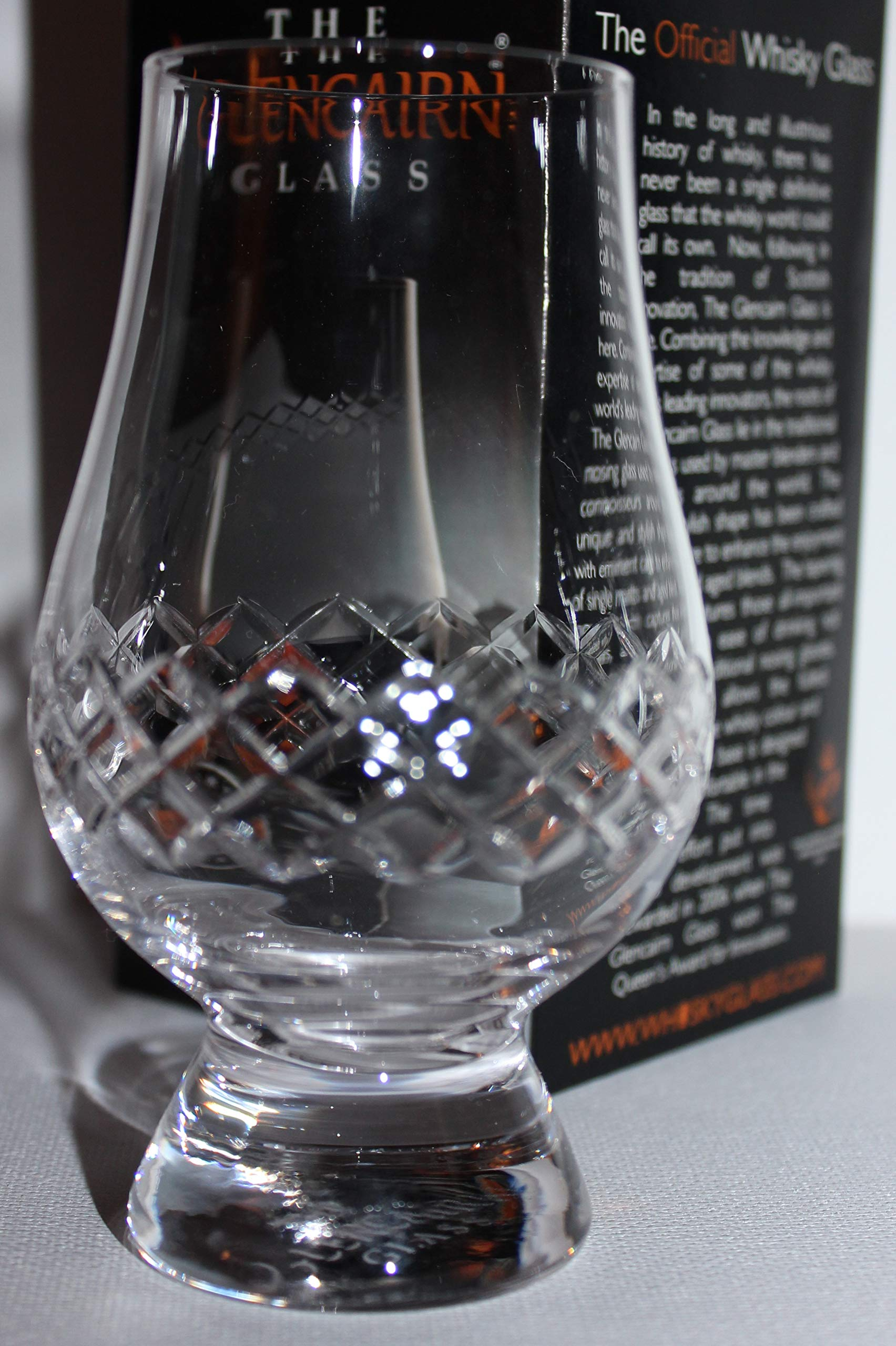 The Glencairn Diamond Cut Scotch Whisky Tasting Glass