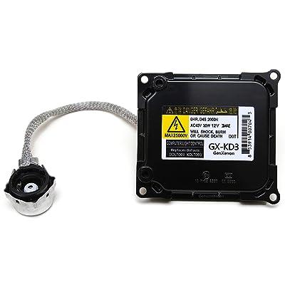 Replacement for Toyota and Lexus Xenon HID Ballast Headlight Control Unit Replaces KDLT003, DDLT003, 85967-53040, 85967-24010, 85967-52020 & Others: Automotive [5Bkhe0910855]