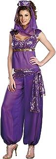 Sexy Ladies Arabian Princess Fancy Dress Costume Jasmine Bollywood Belly Dancer Size 14  sc 1 st  Amazon UK & Sexy Ladies Arabian Princess Fancy Dress Costume Jasmine Bollywood ...